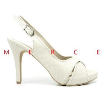 Harga Isabel Sepatu Wanita Hak Tinggi BRENDA Heels Putih Terbaru klik gambar.