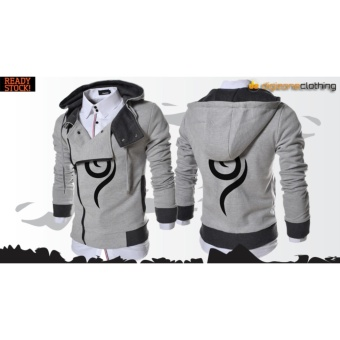 Jaket Anbu Harakiri Grey Hodie Zipper - Best seller