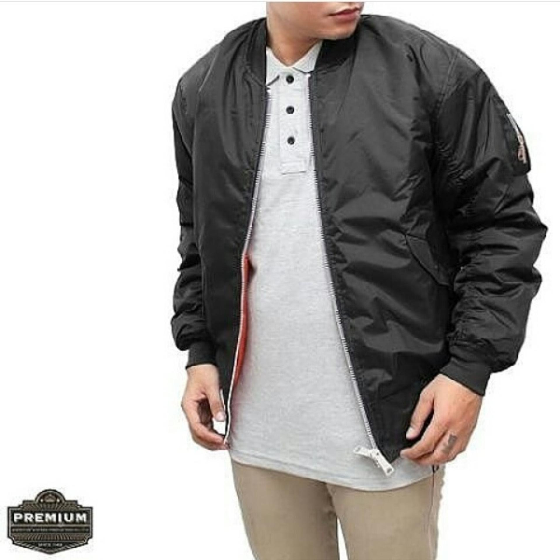 Popuri Fashion Jaket Bomber Wiley - Jacket Babyterry Lengan Panjang ... -  Jaket Murah 6666759b55