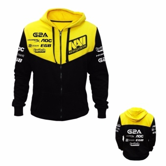 Jaket Gaming Dota 2 Dota2 CS:GO Navi 2016 Hoodie Sweater JumperJacket