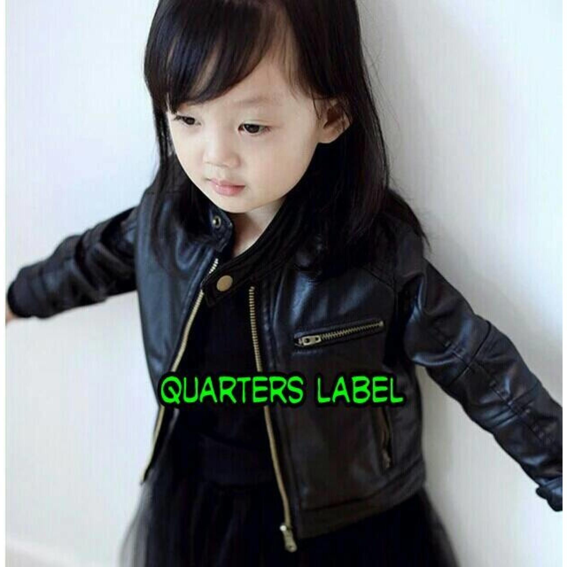 Flash Sale Jaket Semi Kulit Anak Perempuan / Jaket Semi Kulit
