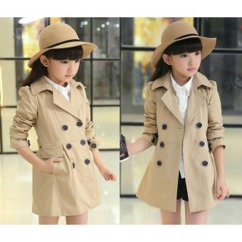 J&C Coat Marlion Kid / Jaket Anak Perempuan / Mantel Anak Perempuan / Kardigan Anak Perempuan