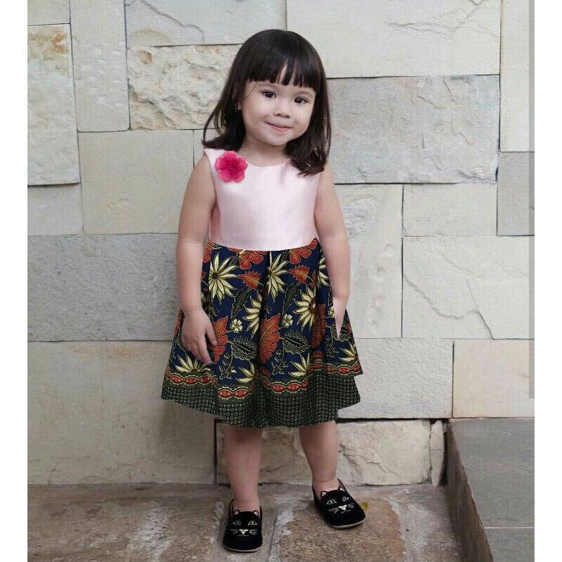 J&C Dress Batik Gempi / Baju Batik Anak / Dress Batik Anak / Mini Dress Anak / Gaun Pesta Anak / Dress Anak / Midi Dress Anak / Baju Ulang Tahun Anak