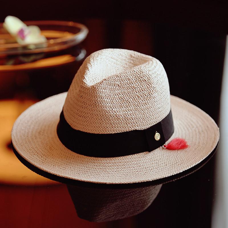 topi jerami bergaya musim panas topi topi fedora hat topi