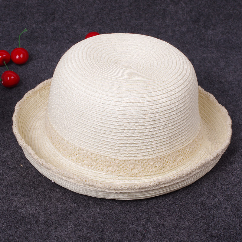 Jazz Shishang pria musim panas topi (Renda-BEIGE)