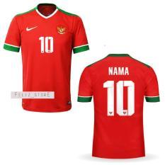 Jersey Bola Timnas Indonesia Home Custom Nama & Nomor