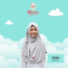 Jilbab Anak Instan Hijab Yara size L usia 6-10 tahun Monia Hijab Kids