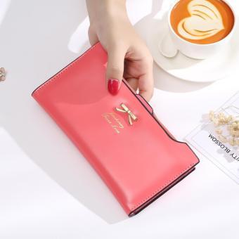 ... Jims Honey Dompet Fashion Import Ribbon Wallet Peach 4