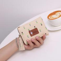 Jims Honey – Dompet Lipat Kecil Wanita – Pandora Wallet (Cream)