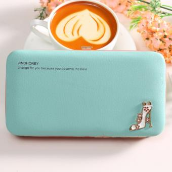 Jims Honey - Dompet Wanita Import - Megan Heels Wallet (Tosca)