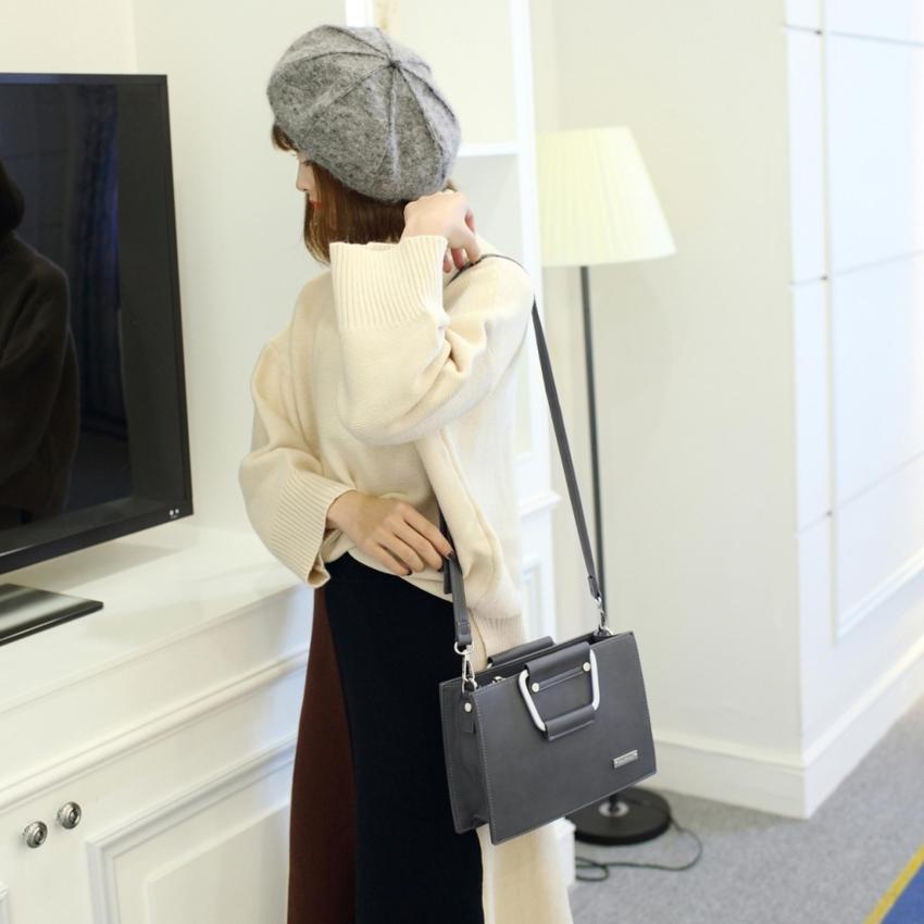 Jims Honey Tote Bag Fashion Luna Bag Grey .