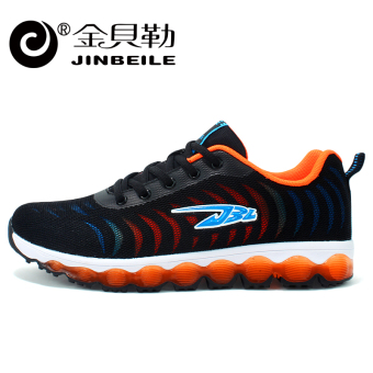 Jual Jinbei Le Pria Kebugaran Room sepatu sneaker baru sepatu pria (Model  laki-laki + X137731-hitam dan oranye) Online 02cdf589e3