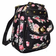 Jobay Promo Tas Ransel Fashion Backpack Tas gemblok Tas selempang slingbag 2In1 Rose .