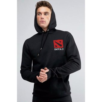 Just Cloth Jaket Pullover Gaming Dota 2 - Hitam