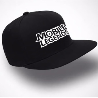 Just Cloth Topi Snapback Mobile Legend Type 2 - Hitam