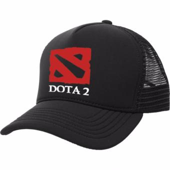 Just Cloth Topi Trucker Gaming Dota 2 - Hitam