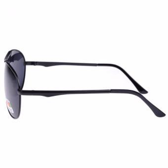 ... Kacamata Hitam Polarized Keren Kacamata Hitam Pria Wanita - Hitam - 3 ...