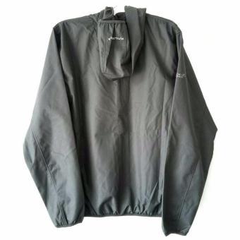 Detail Gambar Produk Kalibre Vertex 1.2 Jaket Hoodie Outdoor Gunung Anti Air WaterproofWater Resistant Abu Grey Windbreaker Jacket Outerwear 970142-010 ...