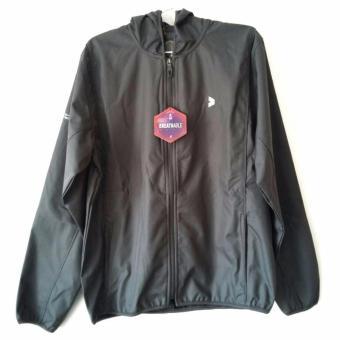 Kalibre Vertex 1.2 Jaket Hoodie Outdoor Gunung Anti Air WaterproofWater Resistant Abu Grey Windbreaker Jacket Outerwear