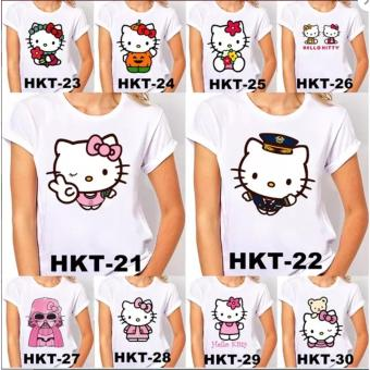 KAOS & BAJU DEWASA HELLO KITTY