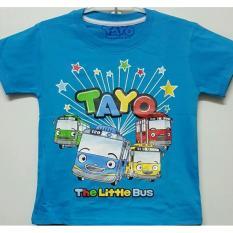 Kaos Anak KarakteR Tayo dan Kawan-Kawan