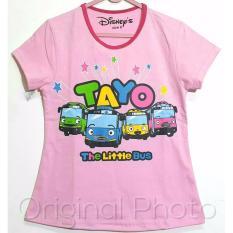 Kaos Anak Karakter - Tayo Pink