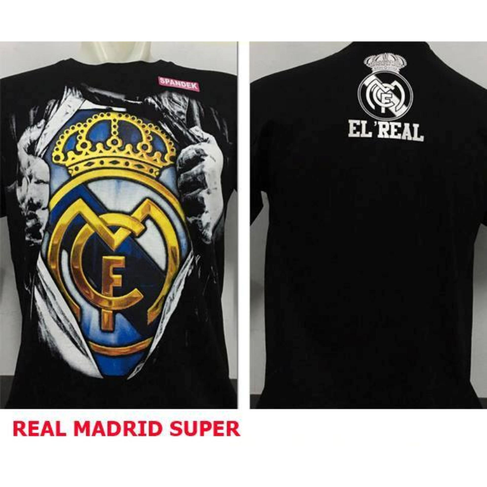 Flash Sale Kaos Distro Bola Murah Real Madrid 3d
