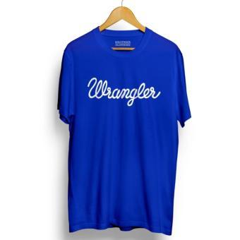 Kaos Distro WRANGLER T-Shirt - Blue
