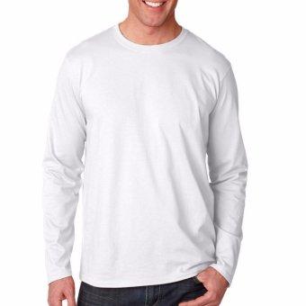 Harga Kaos55 Kaos T Shirt O Neck Lengan Panjang Slim Merah Cabe Terbaru klik gambar.