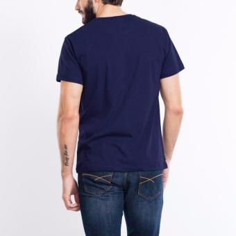 Jual KaosBRO Kaos Polos T Shirt O Neck Lengan Pendek Biru Dongker online murah berkualitas.