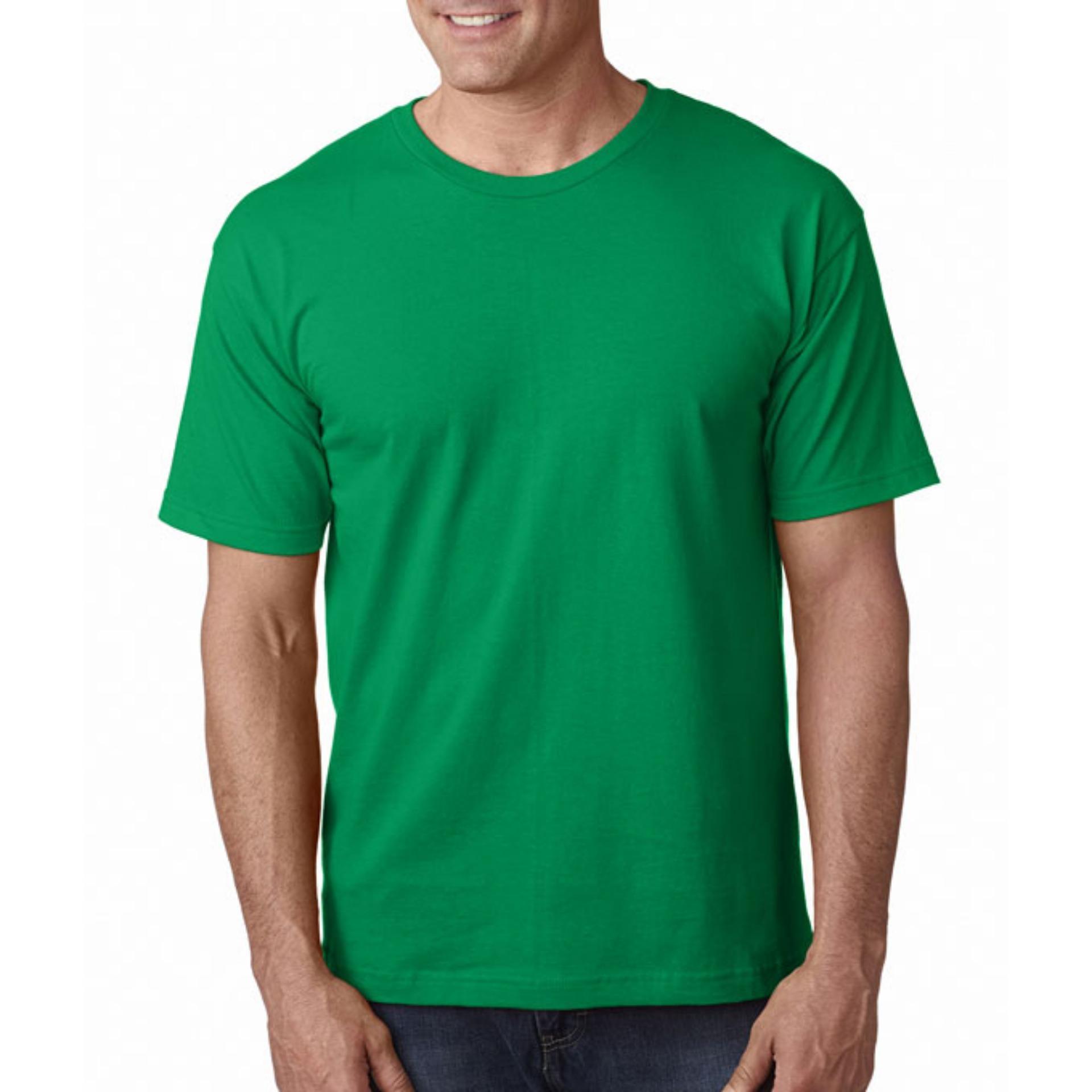 KaosBRO Kaos T-Shirt O-Neck Lengan Pendek - Biru Langit .