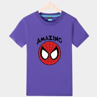 Toko Online Vanwin Shopee Indonesia Source · Harga Saya Kapas yang luar biasa Spider Man yard besar lengan pendek t shirt