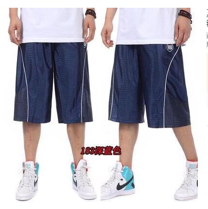 ... (Biru tua. Source · Kasual ukuran besar lutut laki-laki pria celana pantai celana pendek celana pendek basket (