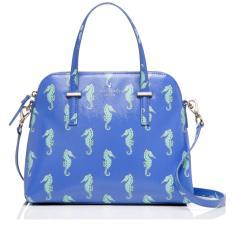 Kate Spade Maise Cedar Street Sea Horse Blue PXRU6896 Authentic Original Store