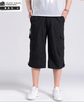 Harga baru Katun kasual untuk meningkatkan kode laki-laki celana celana celana perkakas celana (