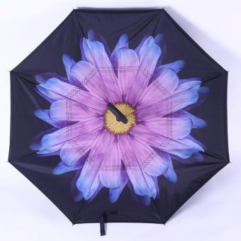 Kazbrella / C-brella - Upside down umbrella / payung terbalik / payung ajaib - ANEMONE PURPLE