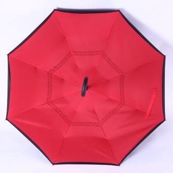 Kazbrella / C-brella - Upside down umbrella / payung terbalik / payung ajaib - LADY IN RED