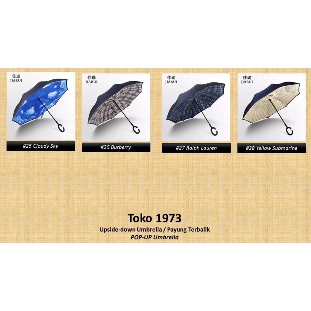 Kazbrella / C-brella - Upside down umbrella / payung terbalik / payung ajaib .