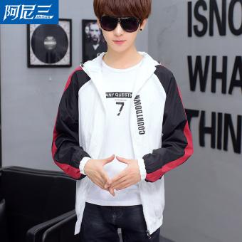 Harga Kebugaran Korea Fashion Style laki-laki SMA Slim jaket kemeja Musim Semi dan Gugur