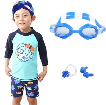 Kecil anak laki-laki anak laki-laki berenang baju renang anak baju renang (