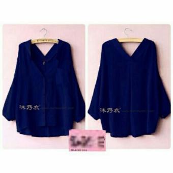 Kedai_Baju Blouse Wanita Eriya / Blouse Cewek / Shirt Wanita /Blouse Japan Style / Blouse