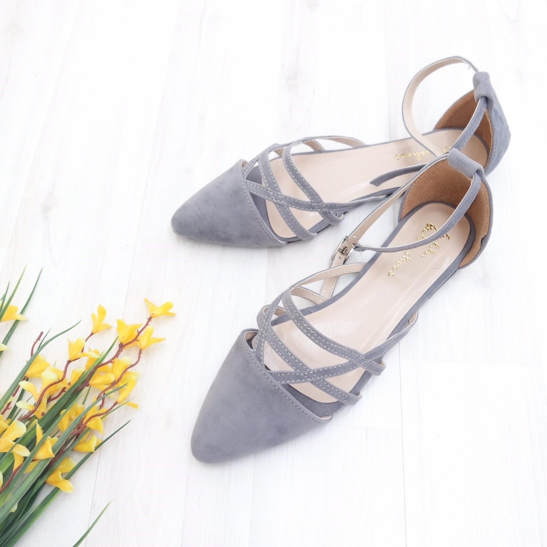 KelinciMadu-Cersei Flatshoes-Grey .