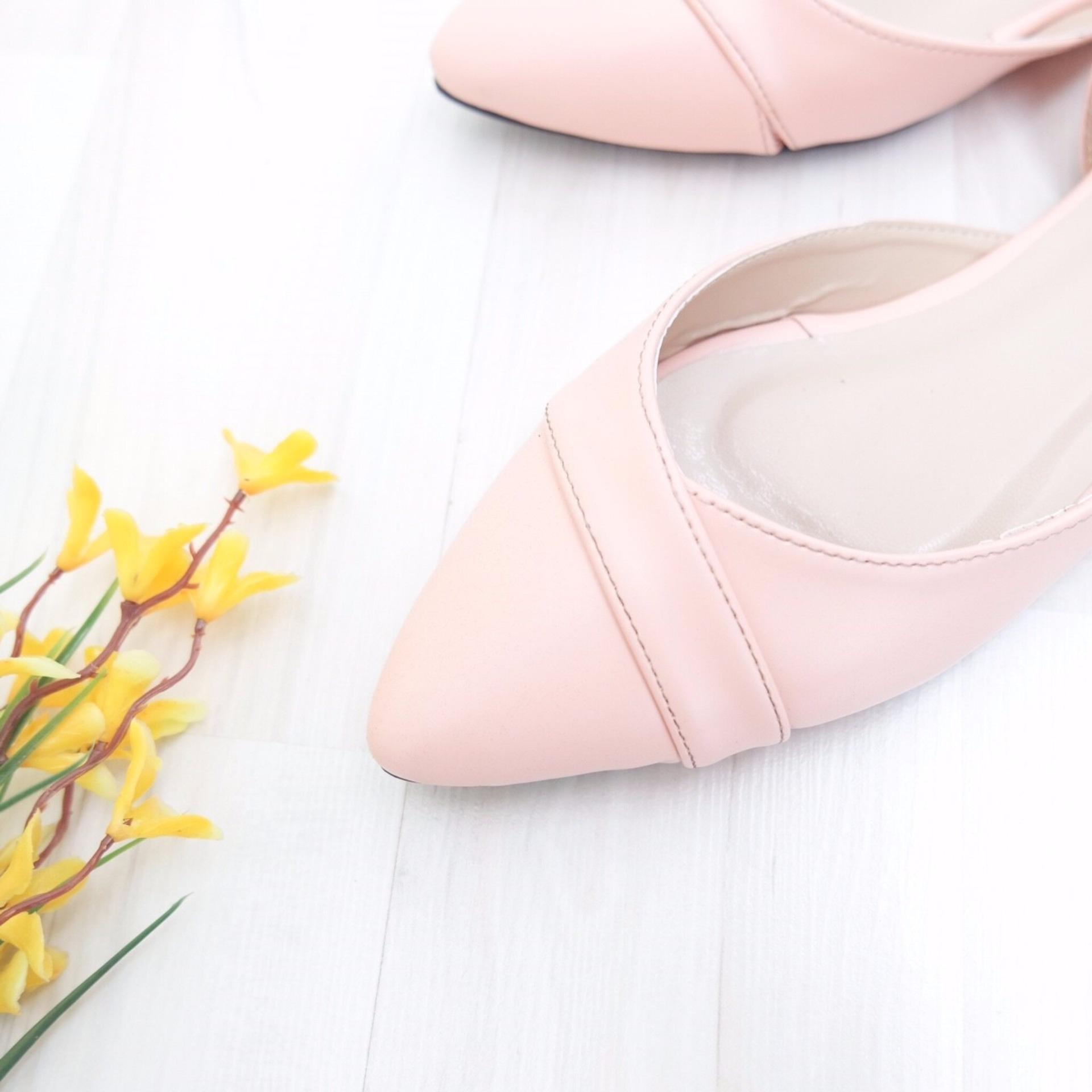 KelinciMadu-Margie Flatshoes-Pink .