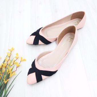 Detail Gambar KelinciMadu-Sansa Flatshoes-Pink dan Variasi Modelnya