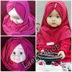 Kerudung Anak Bayi kerut payet / Jilbab Anak Bayi / Jilbab Bayi / Hijab Pashmina Instan Anak