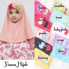 Kerudung Anak Bayi Yasna / Jilbab Anak Bayi / Jilbab Bayi / Hijab Pashmina Instan Anak