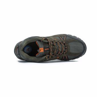 KETA Sepatu Hiking Outdoor Sepatu Gunung KETA 427 - Hijau Orange - 3