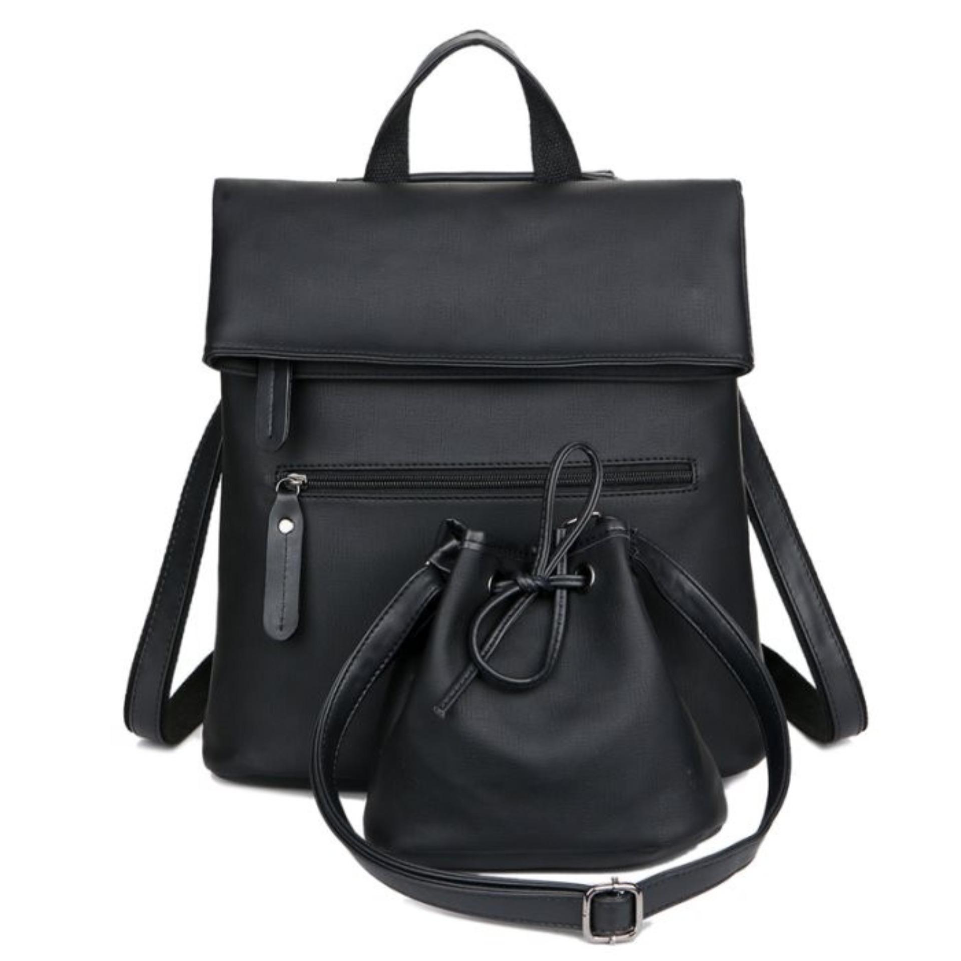 Laptop Premium Executive Winter Oxford Backpack AH-WR - Hitam KGS Tas .