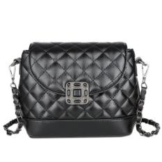 KGS Tas Wanita Formal Pesta Casual Mini Black Stone - Hitam
