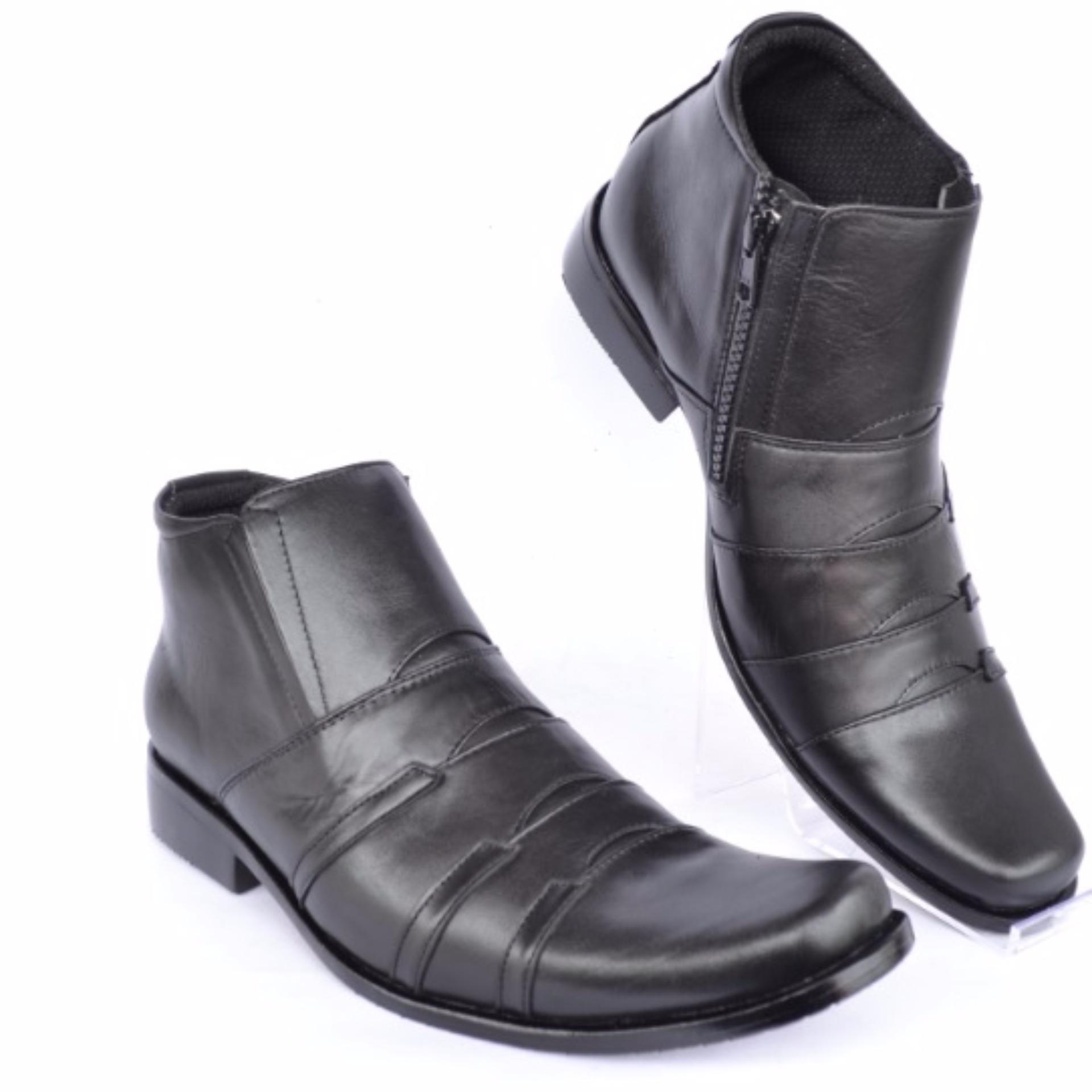 Kickers Sepatu Pria Sepatu Bots Sepatu Kerja Sepatu Formal Kulit Pria Pantofel Andree .
